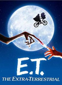 E.T. poster, fingers touching