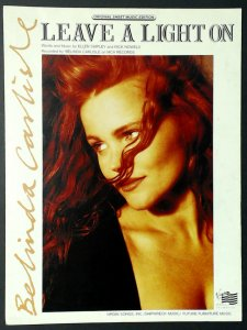 Belinda Carlisle, sheet music cover