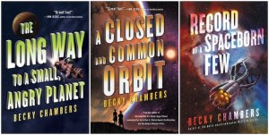 Wayfarers series covers