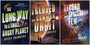 Wayfarers series covers