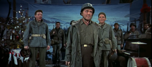General Waverly and company, White Christmas, opening scene
