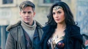 Wonder Woman and Steve Trevor