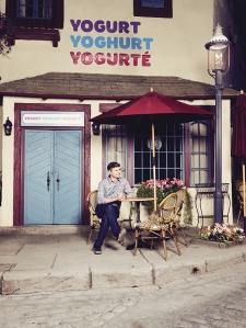 The Good Place yogurt shop