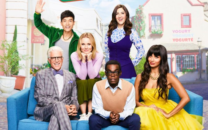 The Good Place cast portrait