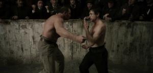Sherlock Holmes, arena fight scene