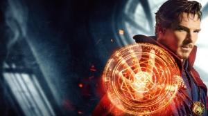 Doctor Strange casts a spell