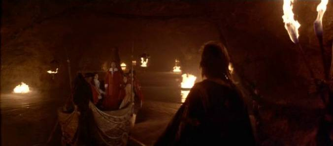 Cardinal Richelieu's underground lake, with firepots