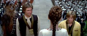 Star Wars awards ceremony