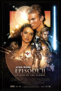 Star Wars - Attack of the Clones poster