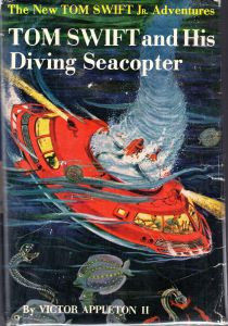 Tom Swift and his Diving Seacopter, cover