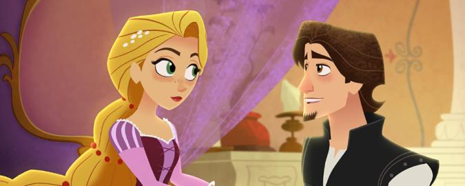Eugene proposes to Rapunzel