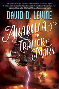 Arabella the Traitor of Mars, cover