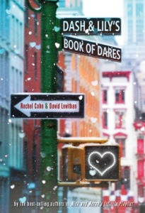 Dash and Lily's Book of Dares, cover