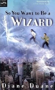 So You Want To Be a Wizard, cover