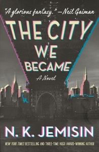 The City We Became, cover