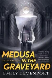Medusa in the Graveyard, cover