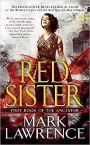Red Sister, cover