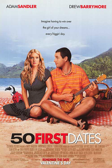 50 First Dates, movie poster