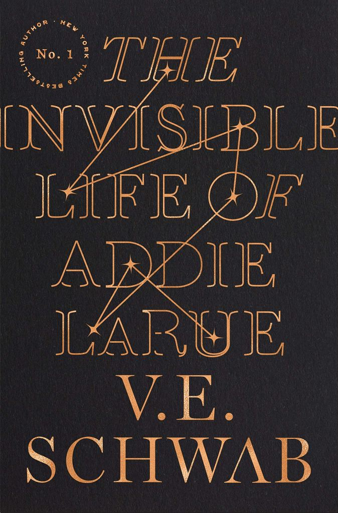The Invisible Life of Addie LaRue, cover